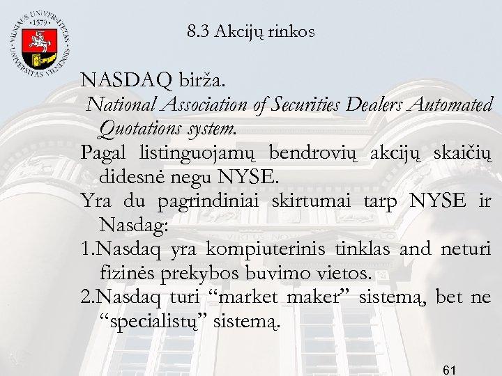 prekybos akcijomis sistema