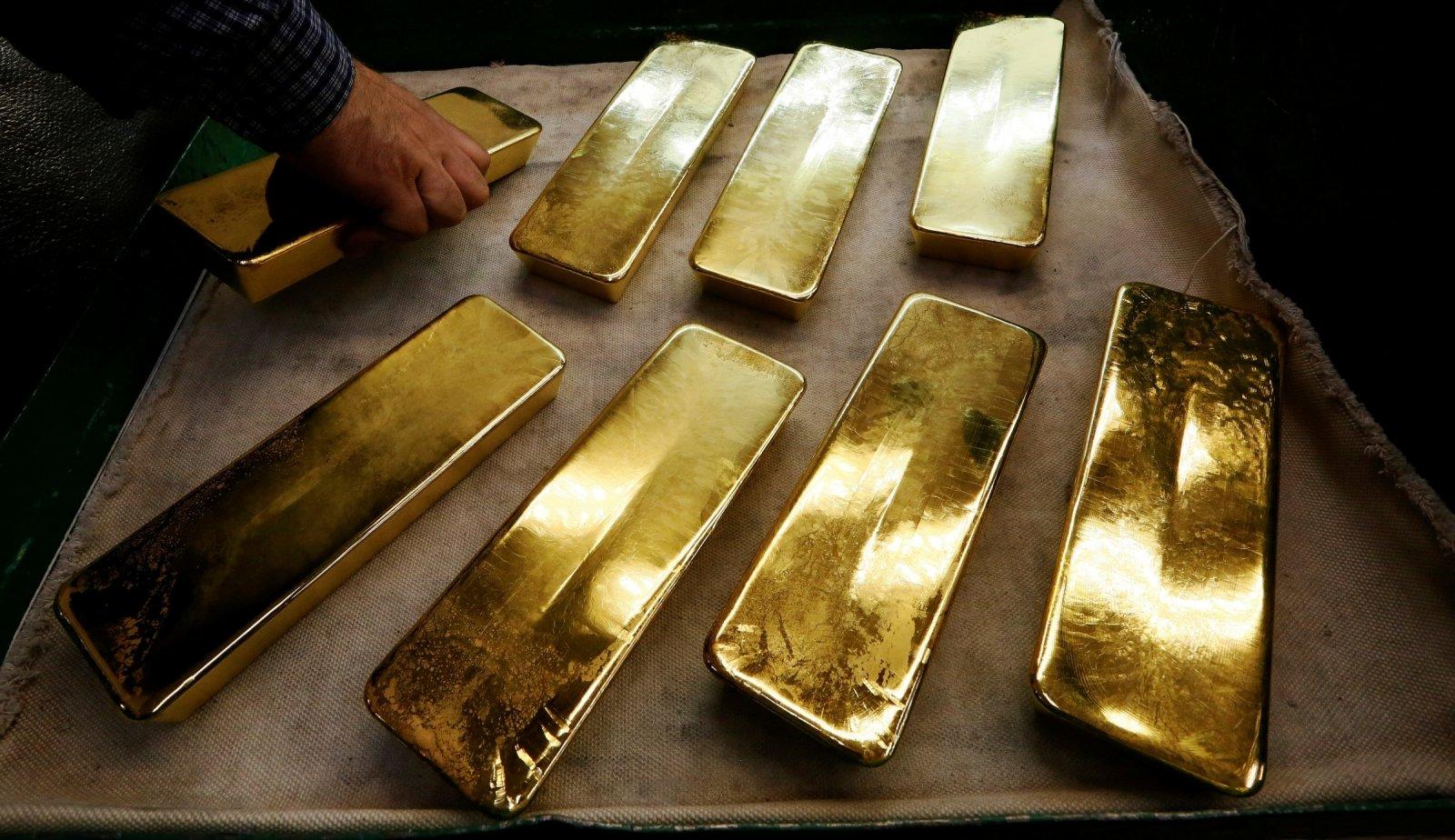 Aukso kainos