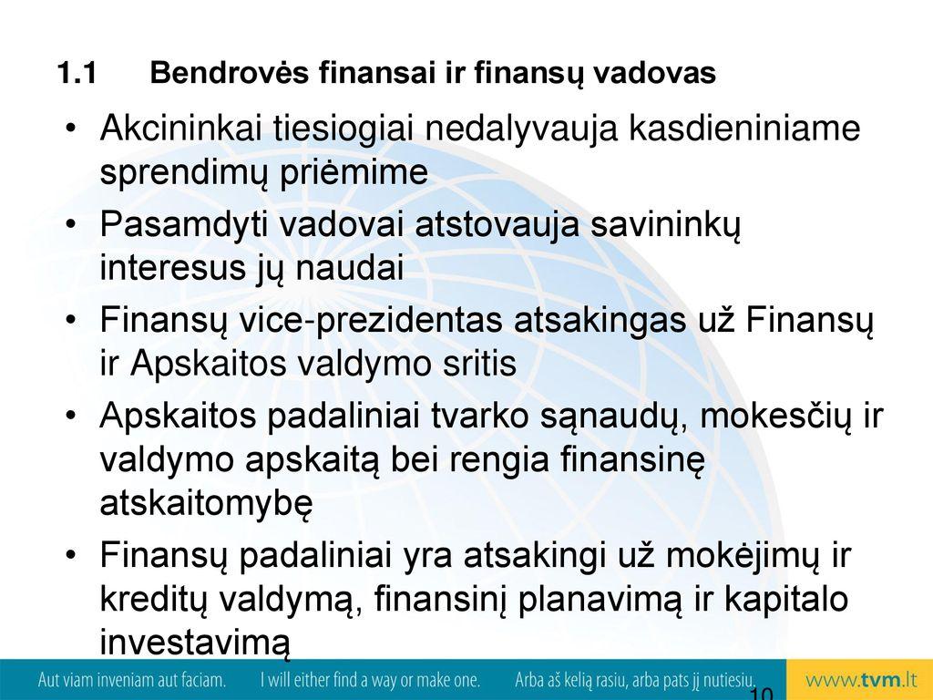 neįgyvendintų akcijų pasirinkimo sandorių apskaita)