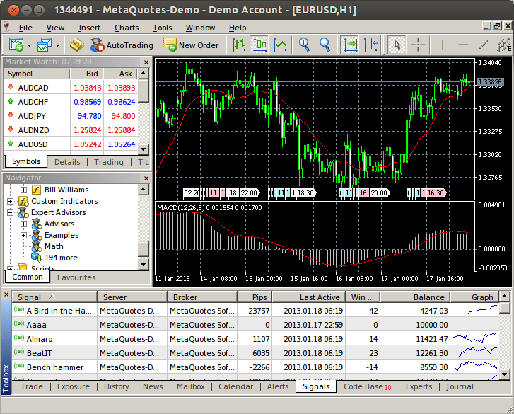 metatrader 5 windows server