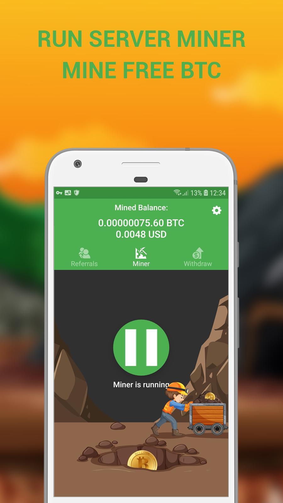 Green power (10), Bitcoin google map output - Satoshi android