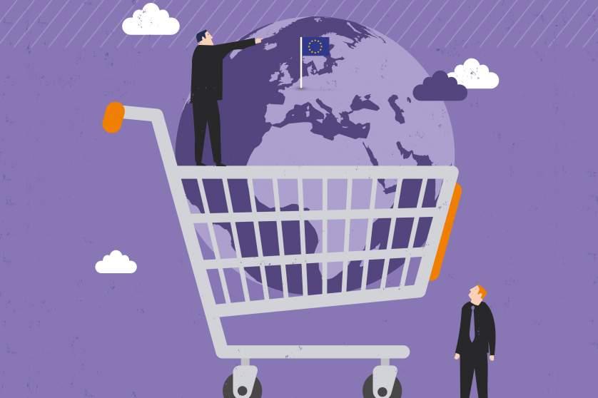 pasaulio integruotos prekybos sprendimų sistema)