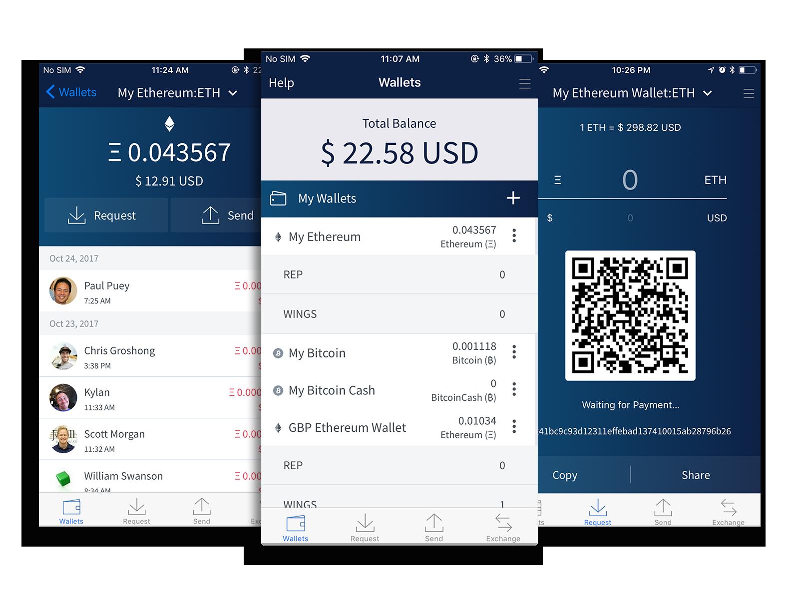 Bitcoin wallets schindler list.