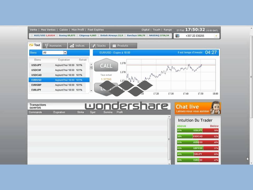 logiciel trading d option binaire