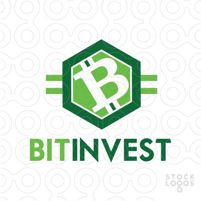 bitcoin invest logotipas