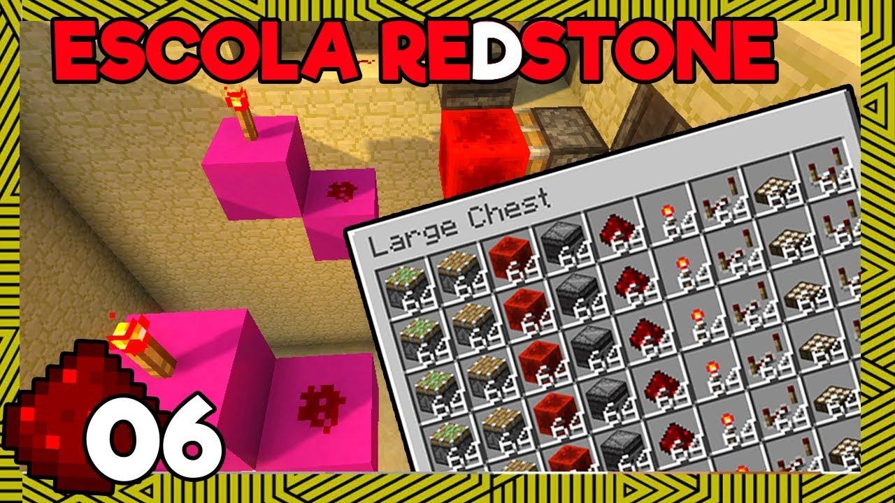 minecraft redstone prekybos sistema)