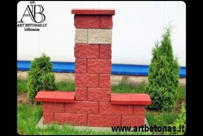 betoninė baliustrados sistema