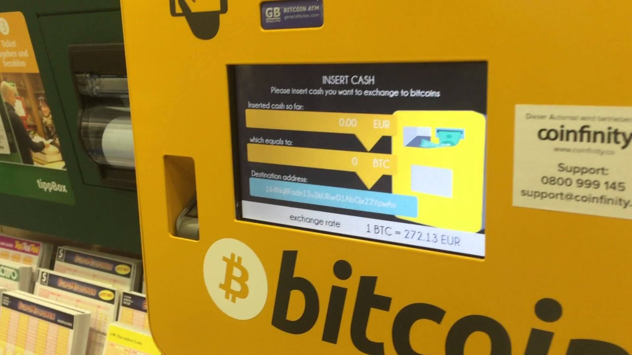 bitcoin atm machine in germany