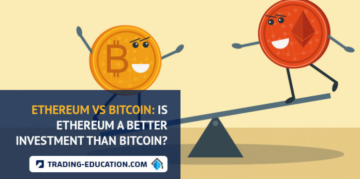 yra ethereum vs bitcoin investicijoms