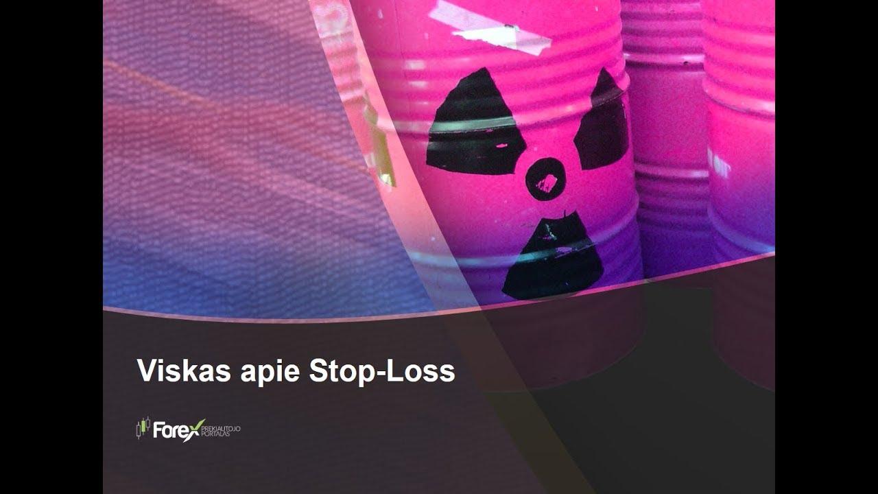 stop loss strategijos prekyba)