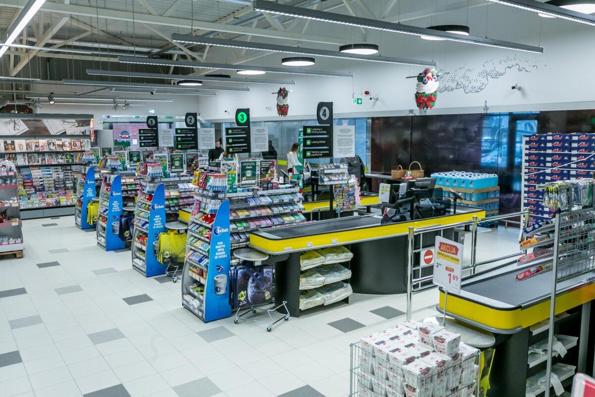 Prekybos centro pranašumai