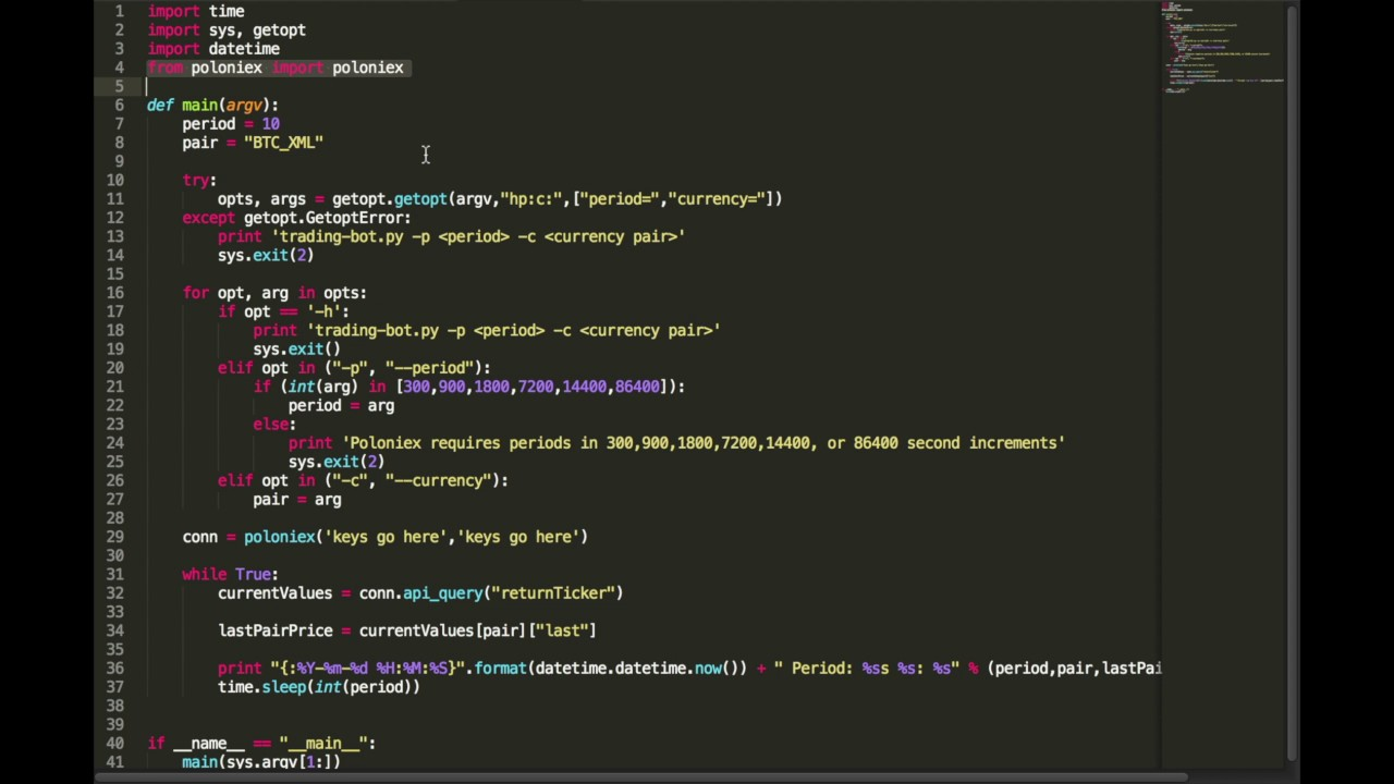 crypto bot python