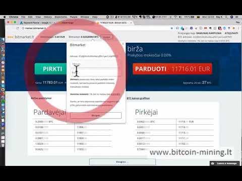 geriausia bitkoin prekybos svetain)