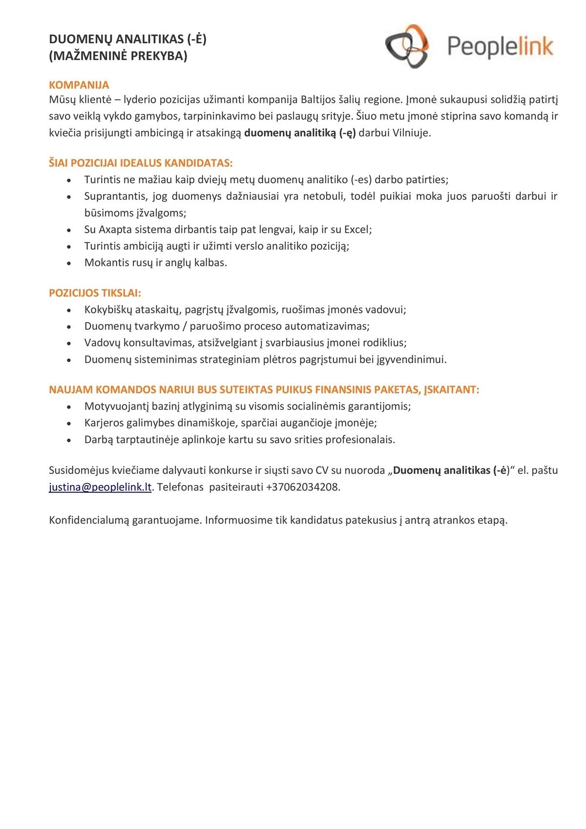 tarptautinės prekybos karjeros galimybės