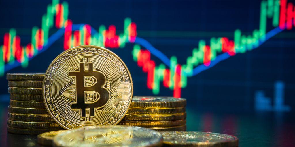 prekyba bitkoinais udaryta