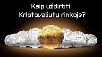 prekyba kriptovaliutomis 101)