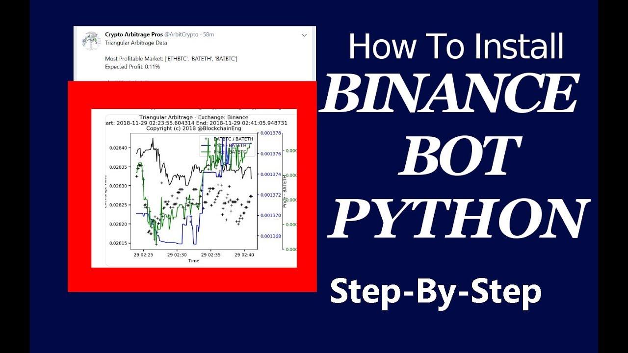 trading bot python binance