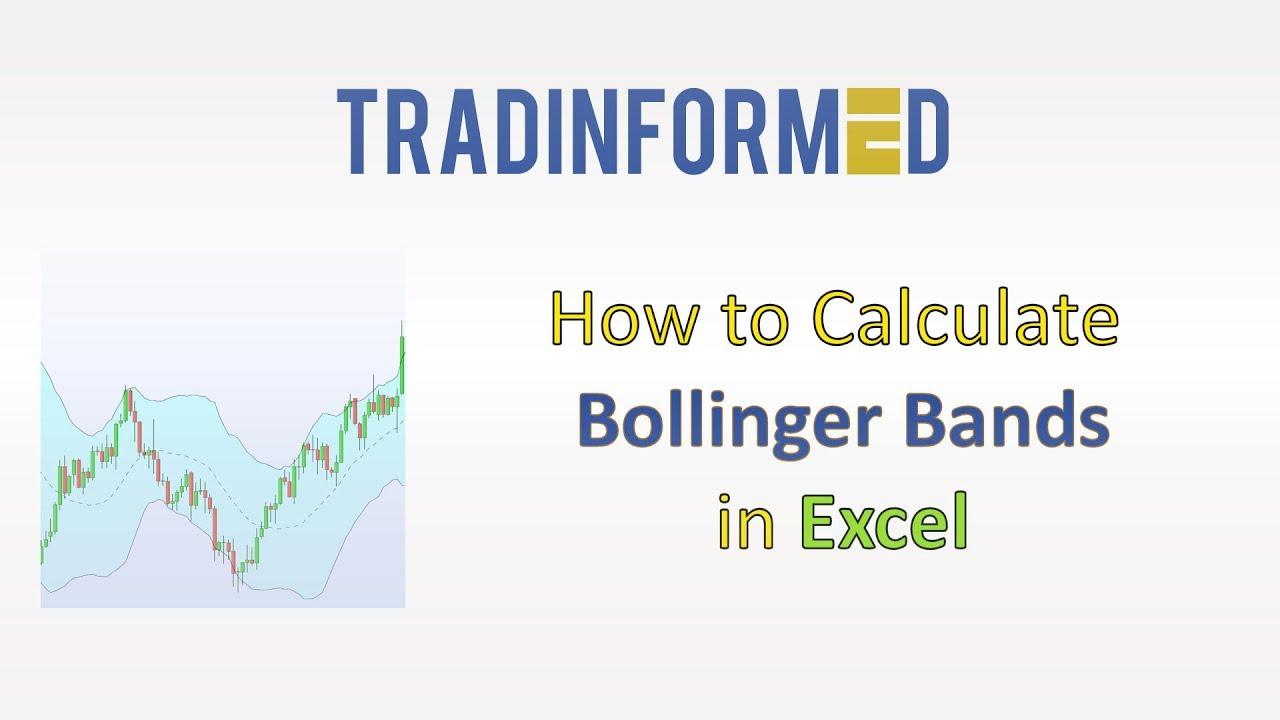 bollinger juostų excel grafikas