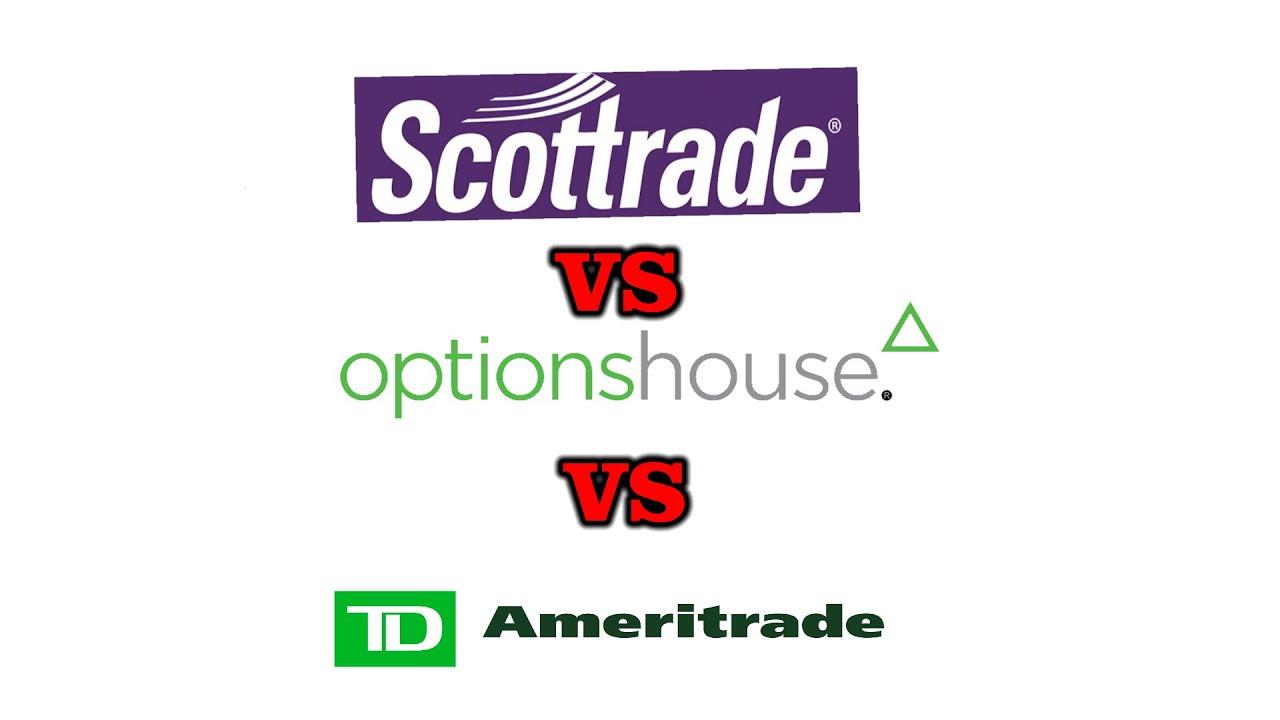 scottrade vs optionshouse akcijų su savaitine opcionų prekyba